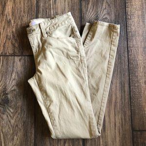 No boundaries skinny leg khaki pants